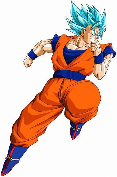 Goku Transparent Dragon Ball Ssgss Son Render