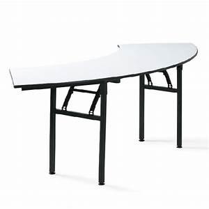 Table Demi Lune Pliante : table de conf rence demi lune pliante tga t008 one mobilier ~ Dode.kayakingforconservation.com Idées de Décoration