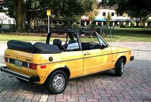 1982 Vw Rabbit Convertible For Sale   Oldbug Com