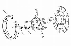 2009 Chevy Silverado Rear Brake Diagram