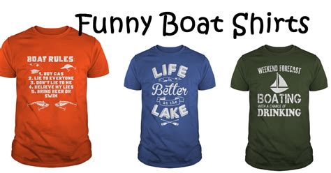 Boating T Shirts boat shirts easy diy ideas from involvery