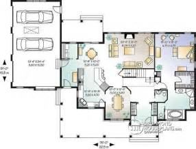 open floor plan ranch style homes house plan w2671 detail from drummondhouseplans
