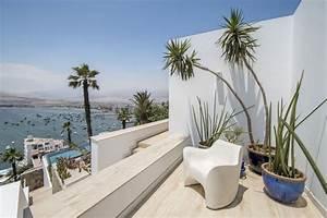 exotische pflanzen als akzent auf der terrasse und im haus With balkon teppich mit tapete mit palmen