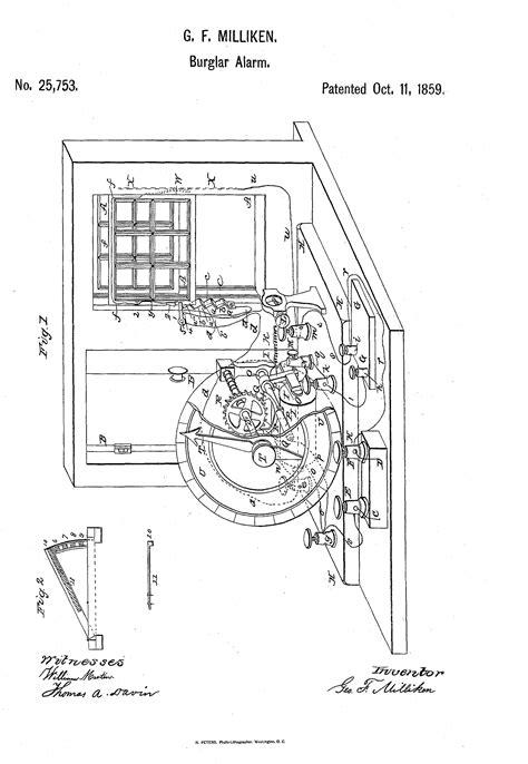circuit diagram for burglar alarm wiring diagram components