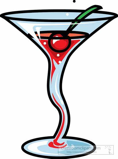 Drink Fancy Cocktail Clipart Beverage Cherry