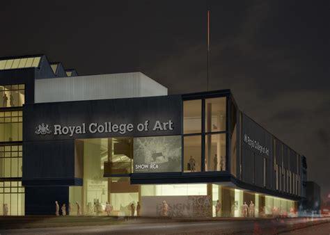 royal college  art battersea rca london building