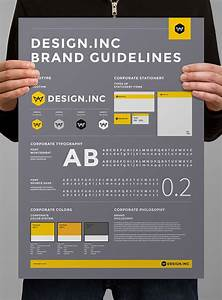 Brand Manual And Identity Posterminimal And Professional