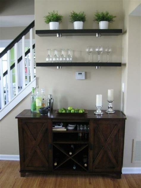 Small Bar Room Ideas by I The Idea Of Creating A Mini Bar In The Entertaining