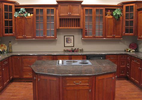 kitchen ideas with cherry cabinets kitchen and bath cabinets vanities home decor design ideas