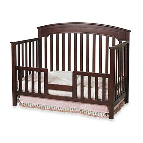 crib rail guard child craft toddler guard rail for convertible cribs in