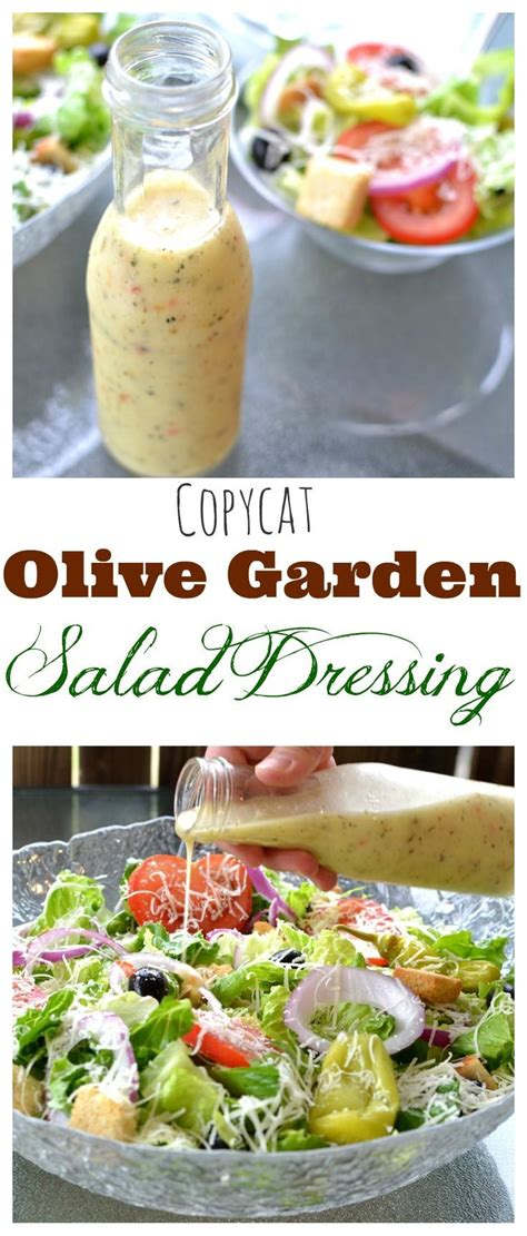 diet plans copycat olive garden salad dressing