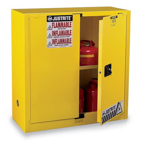 justrite sure grip ex flammable liquids safety cabinet
