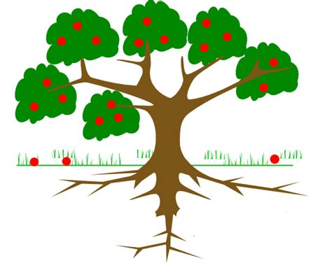 family tree with roots clipart family tree roots clip clipart panda free clipart