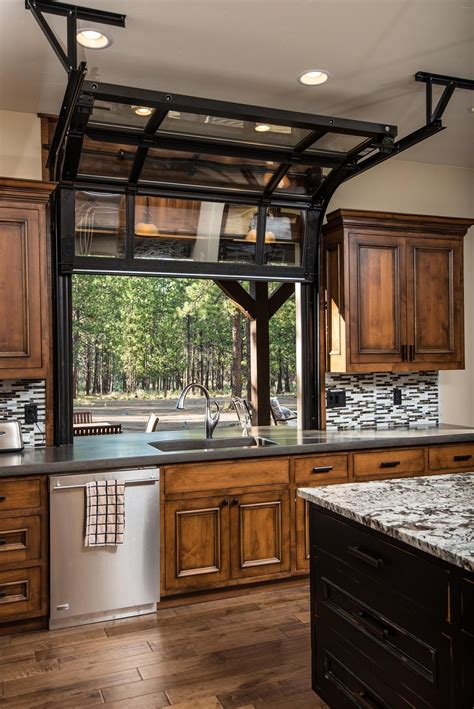 Garage Door Style Windows by This Whole House Is Gorgeous Bend Oregon Lone Cow