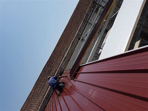 tettoie in ferro zincato tettoie termo copertura struttura in ferro zincato