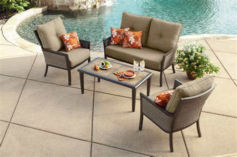 Ty Pennington Patio Furniture Covers by Ty Pennington Style 4 Seating Set Limited