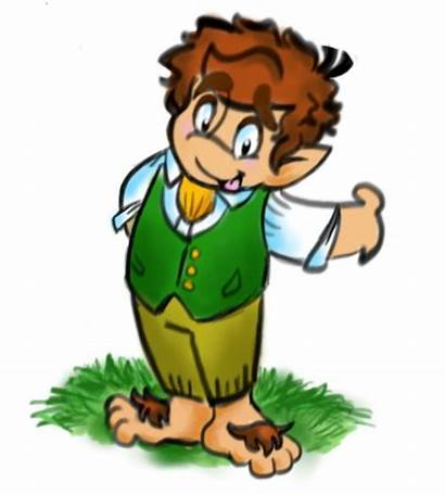 Bilbo Cartoon Baggins Hobbit Drawing Tolkien Drawings