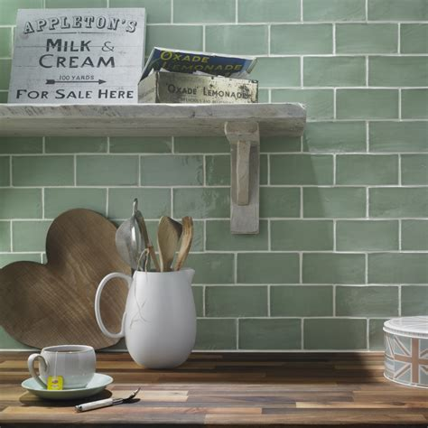 green kitchen wall tiles interiors give your home a makeover with some striking 4033
