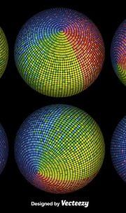 Vector 3D Colorful Spheres - Download Free Vector Art ...