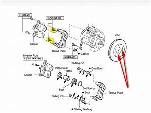 How Do I Remove Front Rotor On 2008 Toyota Camry