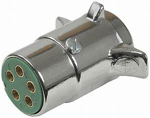 Pollak 5-pole  Round Pin Trailer Wiring Connector