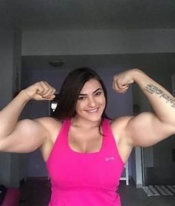 J U00e9ssica Sestrem - Female Bodybuilder Huge Biceps