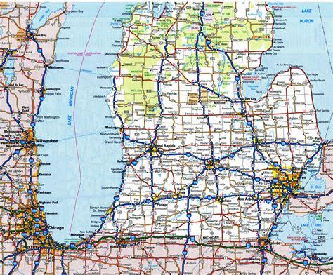 Michigan state road