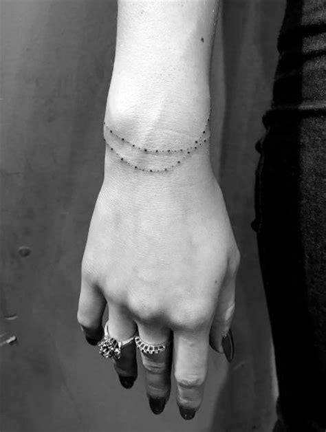 wrist bracelet tattoos ideas  pinterest