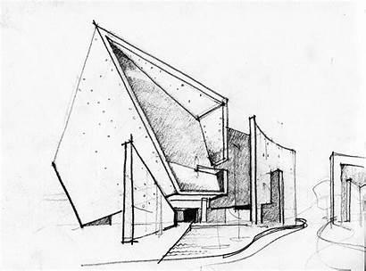 Studio Architecture Sketch India Practices Sketches Abin