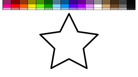 learn colors  kids  color   stars coloring