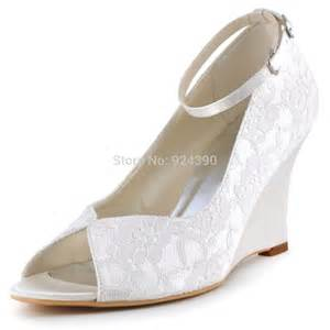 wedding shoe wedges popular ivory wedge wedding shoes buy cheap ivory wedge wedding shoes lots from china ivory