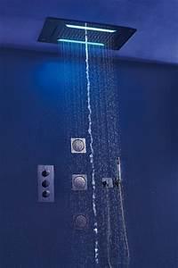 Douche Encastrable Plafond : douche de t te encastrable au plafond xxl douche de t te ~ Premium-room.com Idées de Décoration