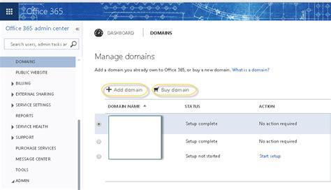 Office 365 Domain by Office 365 Register A Domain 171 Msexchangeguru