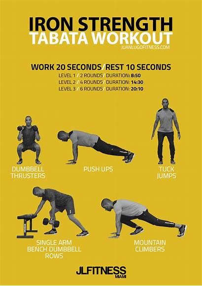 Tabata Strength Iron Workout Gym Grip Manual