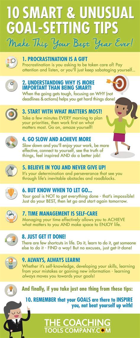 smart  unusual goal setting tips