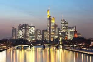 Frankfurt Germany Skyline