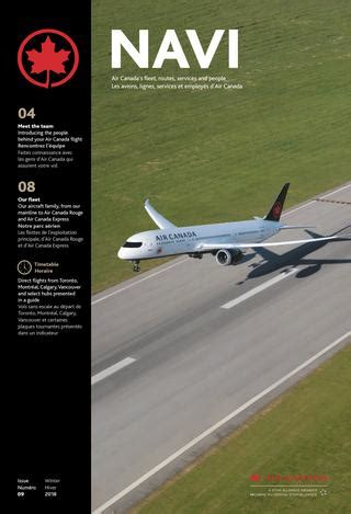 siege avion air air canada navi issue numéro 09 by spafax issuu