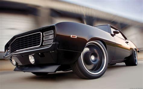 Black Classic Camaro Desktop Background Hd 1920x1200