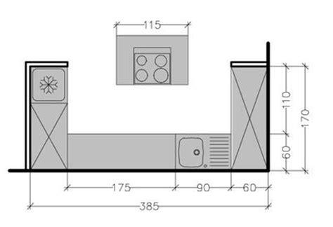 plans de cuisine ouverte cuisine 9m2 avec ilot cuisine en image