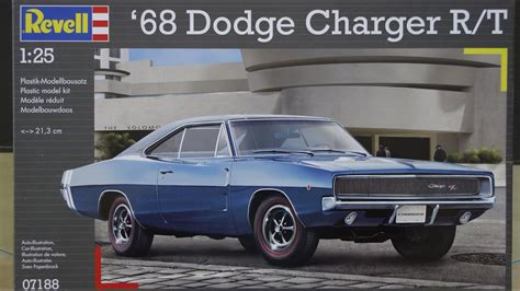 revell dodge charger  rt part   build youtube