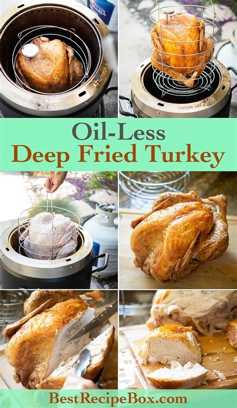 turkey oil deep fried less fryer bestrecipebox recipe easy recipes healthy skin box air crispy whole