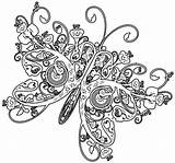 Coloring Printable Butterfly Adult Complex Geometric Sheets Ages Difficult Colouring Popular Snake Coloringhome Bustayes Valentine sketch template