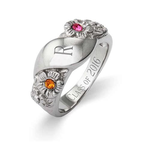 2 Stone Custom Initial Graduation Class Ring For Women. Pink Stone Dress Engagement Rings. Inlay Wedding Rings. Vvs Diamond Wedding Rings. Arab Wedding Wedding Rings