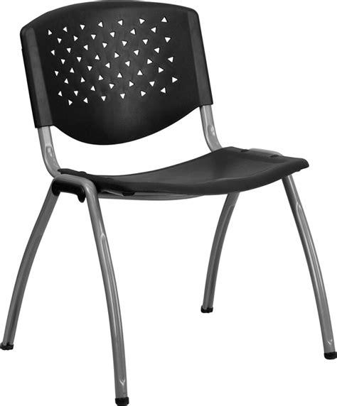 hercules series stack chairs hercules series 880 lb capacity black plastic stack chair