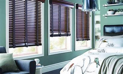 Blinds Bedroom Window Wood Horizontal Wooden Blind