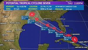 Potential tropical cyclone forms: Tropical storm watch for ...