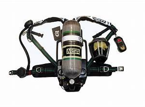 Msa U00ae G1 4500 2013 Nfpa Cbrn Scba W   Cylinder