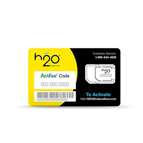 h2o wireless iphone h2o sim card for h2o wireless retail packaging yellow