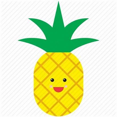 Emoji Fruit Face Pineapple Icon Emoticon Icons