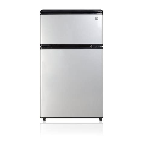 2 door mini fridge kenmore 95683 3 1 cu ft 2 door compact refrigerator